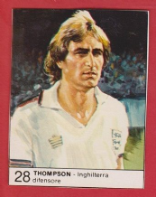 England Phil Thompson Liverpool